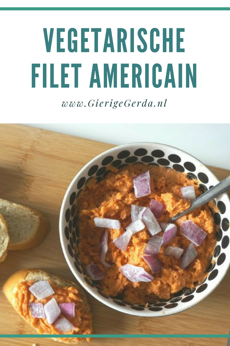 Vegetarische filet americain
