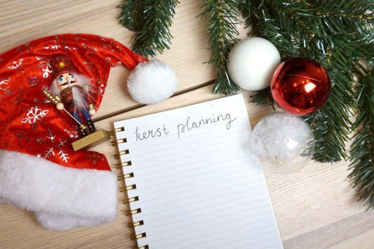 Kerstplanning