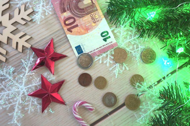 Geen geld uitgeef december