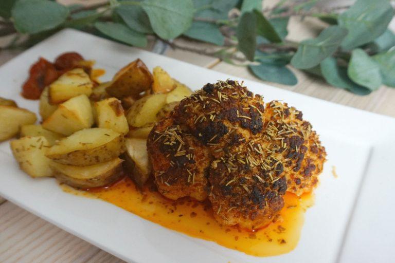 vegetarisch bloemkool oven