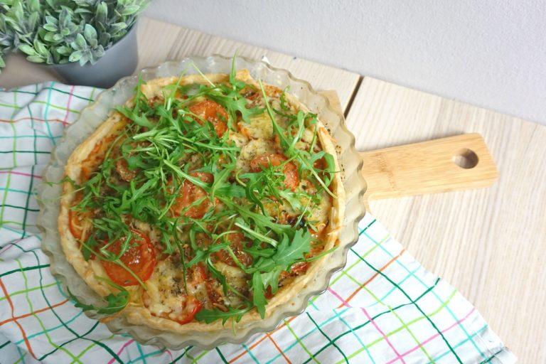 tomaten kaas taart