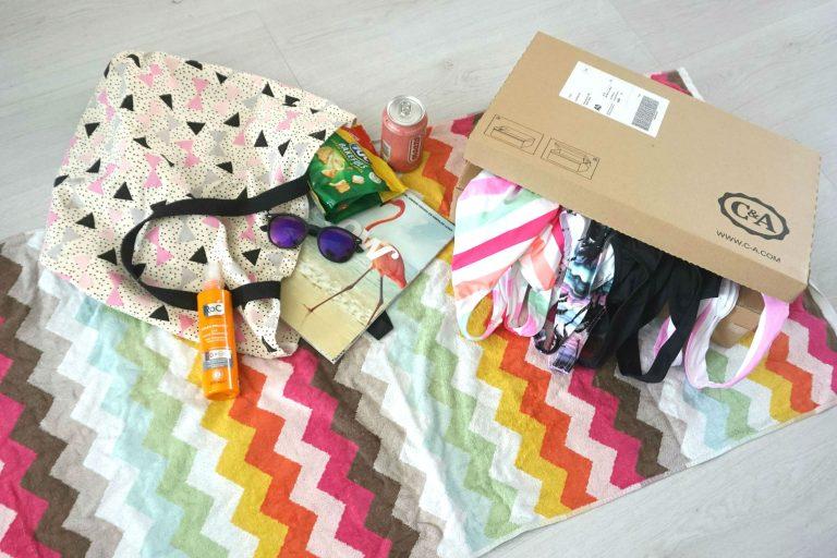 C&A badpak shoplog goedkoop budget bestdeal