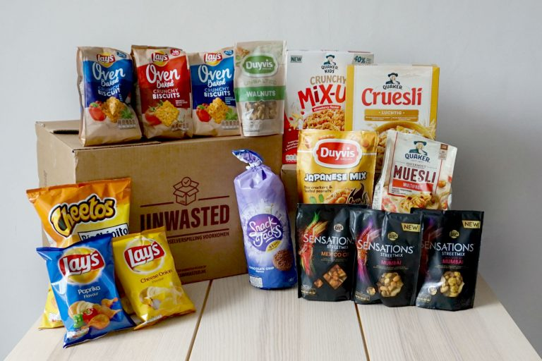 Unwasted boodschappenbox pepsico tegen voedsel verspilling
